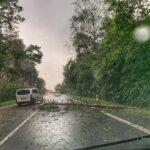 bouřky, povodeň