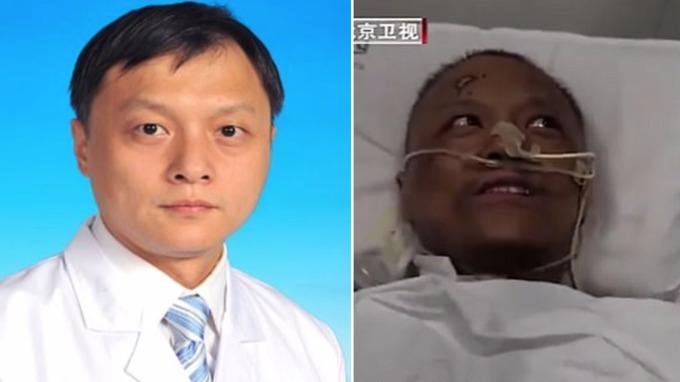 Čínští lékaři po nákaze koronaviru ztmavli