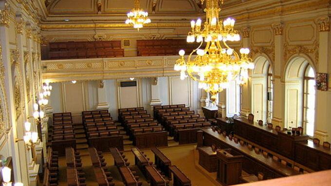 Zasedací sál Poslanecké sněmovny