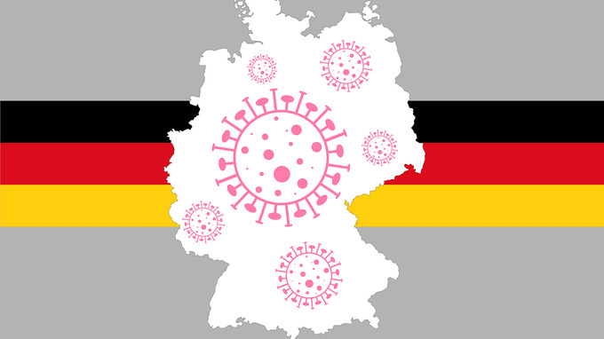 Německo a koronavirus