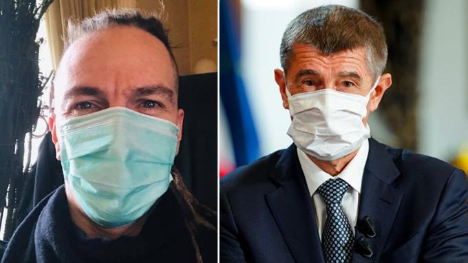 Ivan Bartoš (Piráti) a Andrej Babiš (ANO)