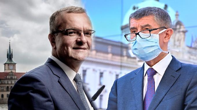 Miroslav Kalousek a Andrej Babiš