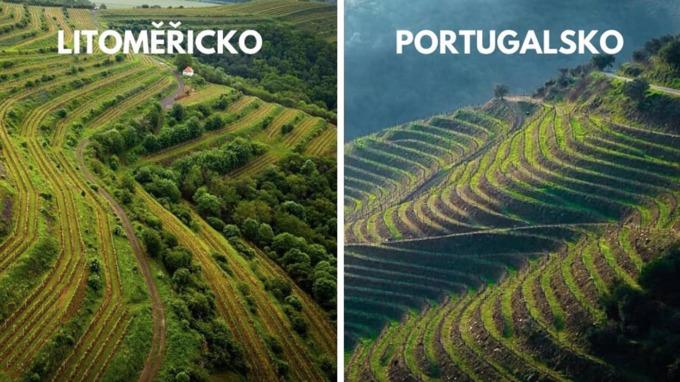 Velké Žeroseky – vinařské údolí řeky Douro