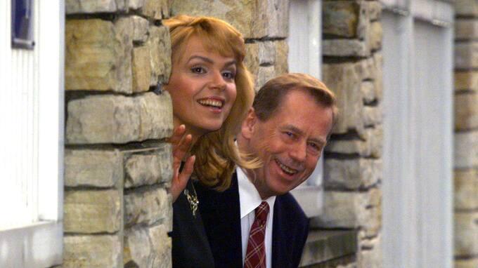 Václav Havel a Dagmar Havlová se moc milovali