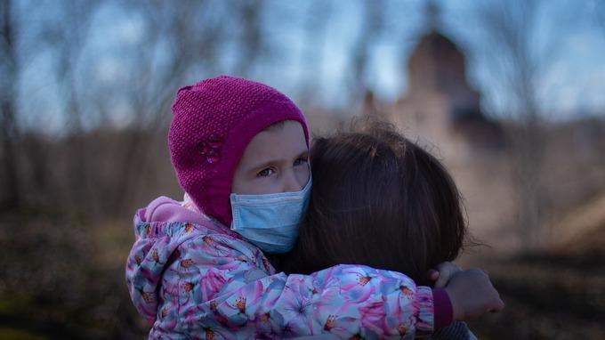 Koronavirus: Děti jsou velké riziko.
