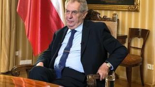 Prezident Miloš Zeman není spokojen s rozhodnutím soudu.