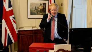 Premiér Boris Johnson