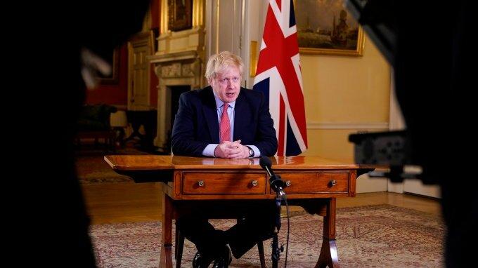 Boris Johnson je britský premiér.