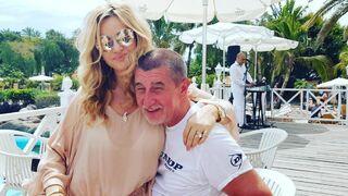 Monika a manžel Andrej Babiš.