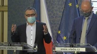 Lubomír Zaorálek s Robertem Plegou.