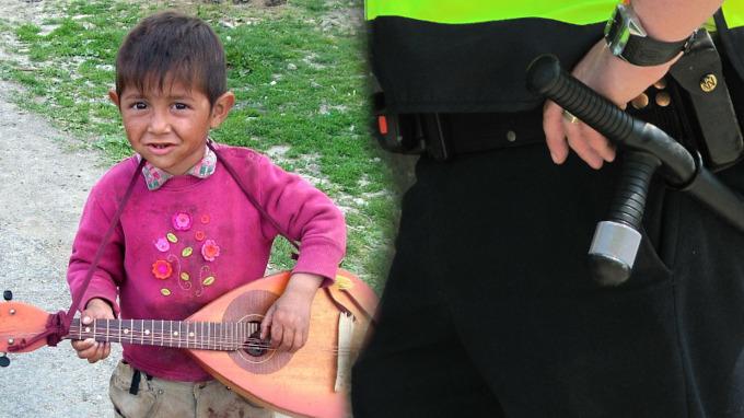 Slovenský policista měl zbít romské děti