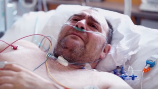Pražský taxikář s koronavirem promluvil (reprofoto Všeobecná fakultní nemocnice v Praze – VFN)