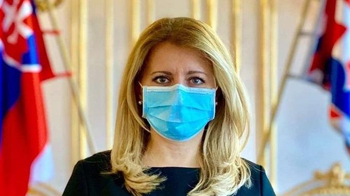 Prezidentka Slovenska Zuzana Čaputová