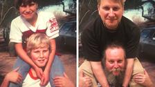 Fotky z dětství vyfotili znovu jako starší
