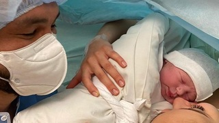 Monika Bagárová porodila krásnou dceru.