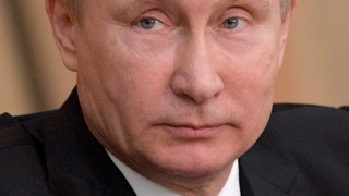 Vladimir Putin v roce 2017