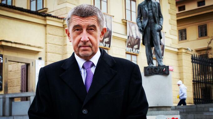 Premiér ČR Andrej Babiš