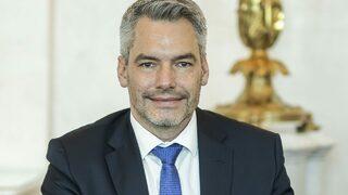 Rakouský ministr vnitra Karl Nehammer