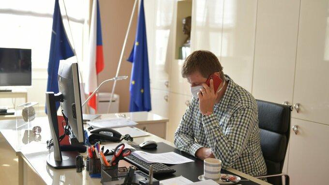 Tomáš Petříček – ministr zahraničí.