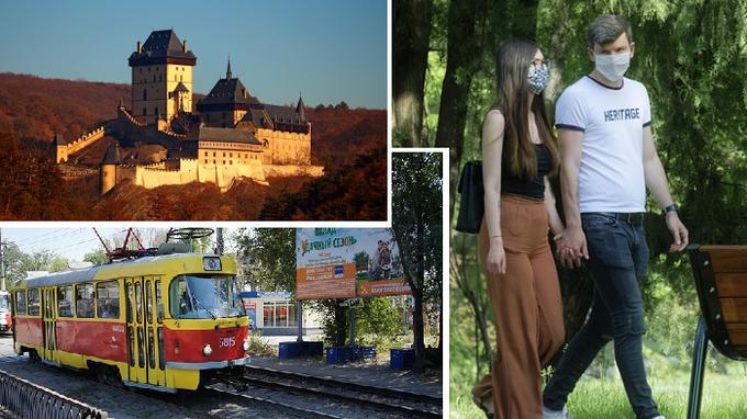 Česko se vrací postupně do normálu.