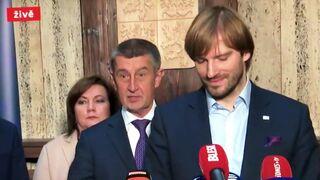 Andrej Babiš a Adam Vojtěch