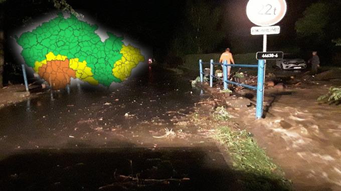 V Česku opět hrozí povodně.