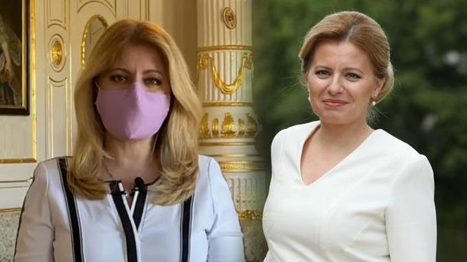 Slovenská hlava státu Zuzana Čaputová