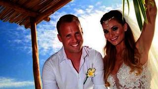 David Limberský s manželkou Lenkou