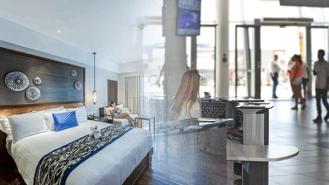 V hotelu můžete bydlet jako doma.