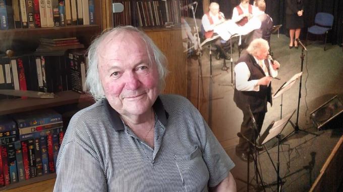 Milan Černohouz byl oblíbený hudebník.
