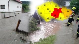 V Česku udeří silné bouřky.
