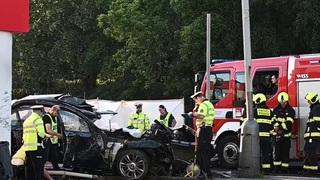 Nárazil byl silný, řidič na místě zemřel.