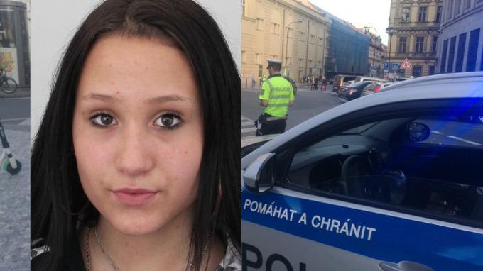 Policie zatím bez úspěchu pátrá po mladé dívce.