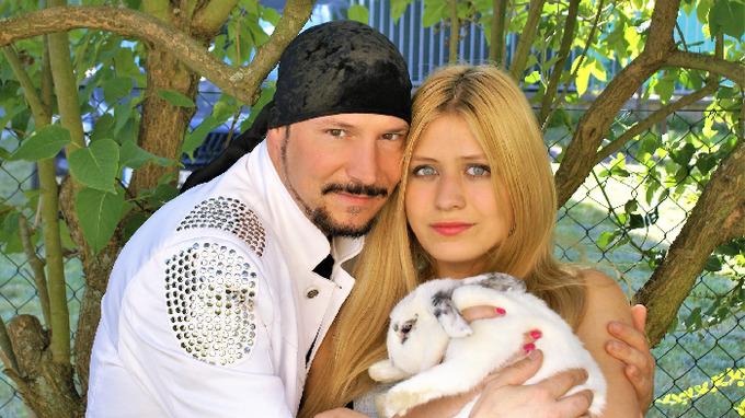 Bohuš a jeho partnerka Lucie.