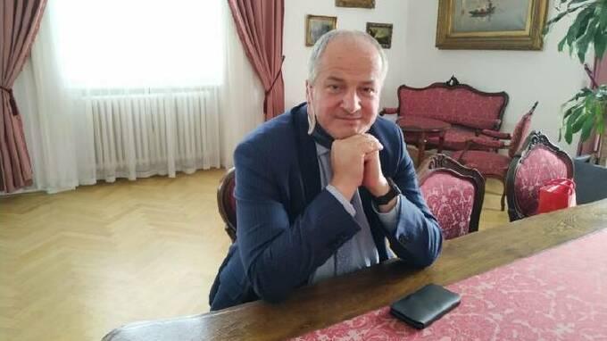 Roman Prymula ve své kanceláři na Úřadu vlády.