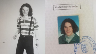 Zdeněk Hřib v době studií.