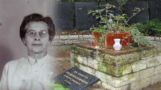 Milada Horáková je významnou českou osobností / Hrob M. Horákové, krematorium Strašnice