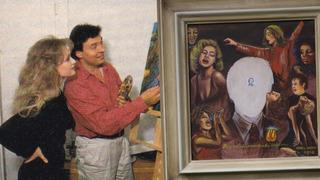 Karel Gott vytvořil velmi pozoruhodný obraz.
