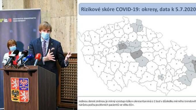 Podle ministra zdravotnictví je epidemiologická situace v Česku dobrá.