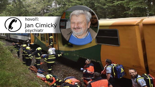 Jan Cimický promluvil o tom, co musí prožívat strojvedoucí.
