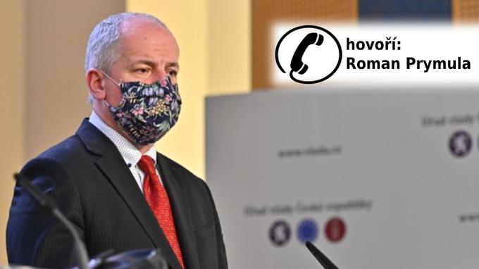 Epidemiolog a vládní zmocněnec Roman Prymula