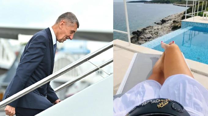 Premié i manželka stráví dovolenou v zahraničí.