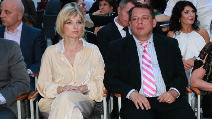 Petra Paroubková a Jiří Paroubek v době, kdy byli manželé.