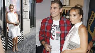 Lucie Vondráčková a David Gránský na křtu videoklipu.
