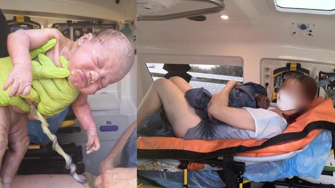 Viktorka se narodila v sanitním voze.