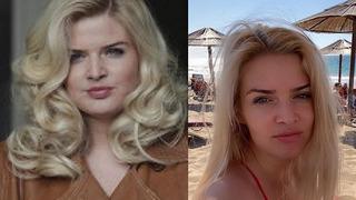Pohledná herečka výrazně zhubla.