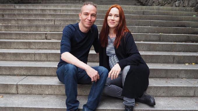 Ivan Bartoš a jeho manželka Lydie.