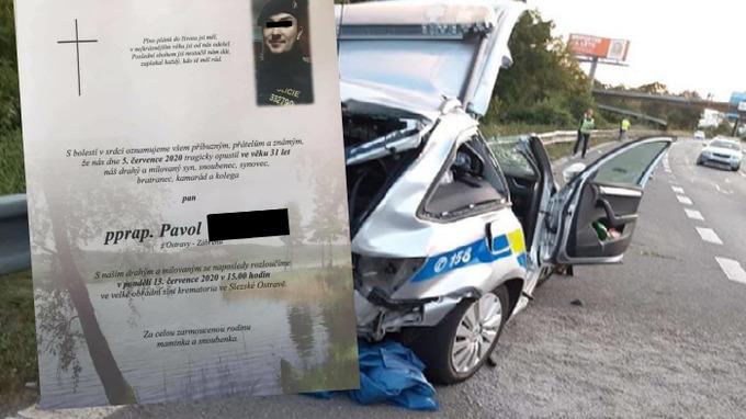 Zeznulý policista měl krátce před svatbou.