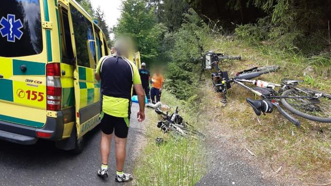 Cyklistu se nepodařilo zachránit.