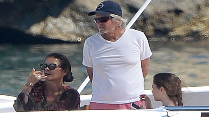 Populární herec tráví prázdniny s rodinou na Mallorce.